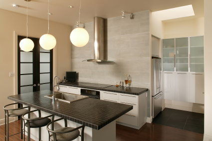 Decoraci n de cocinas decoracion en el hogar - Lamparas de techo para cocinas ...