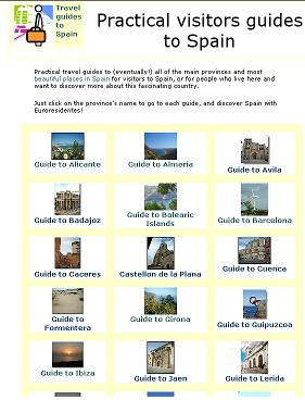 Visitors guide to Spain
