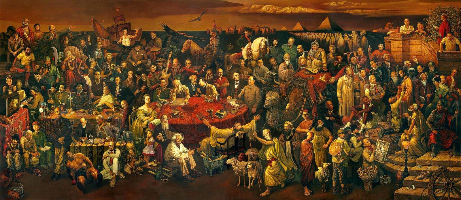 Los Personajes mas Importantes de la Historia