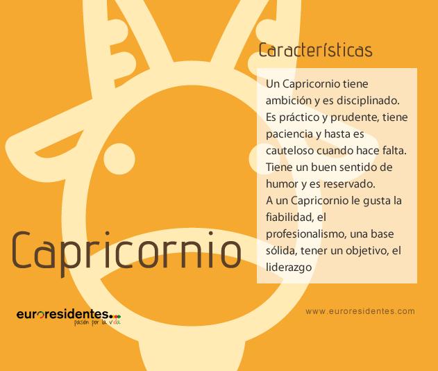 Características Capricornio