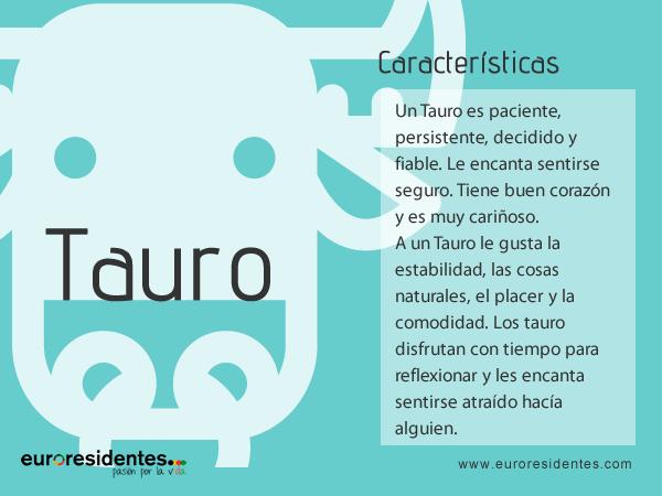 Características de Tauro