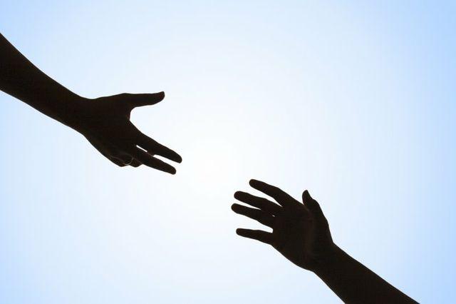 manos en el cielo