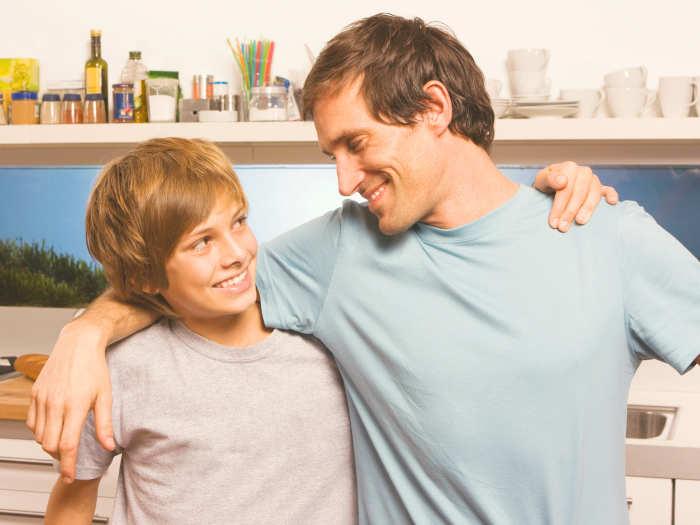 Ser padre de un adolescentes