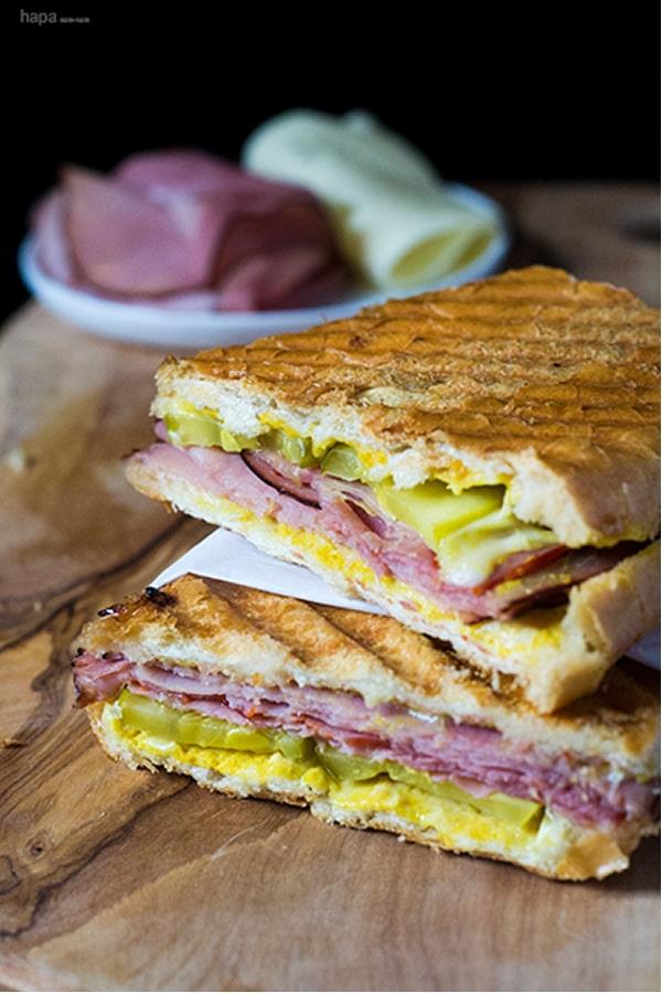 Ideas bocadillos: Sandwich o emparedado cubano