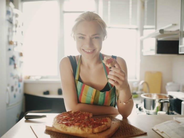 7 Formas de comerte una pizza ¡sin engordar!