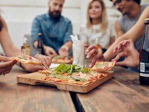 Formas de no comer pizza sin engordar