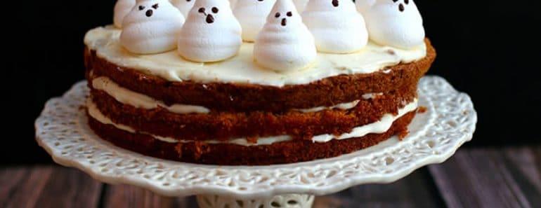 Tartas de Halloween fáciles y originales