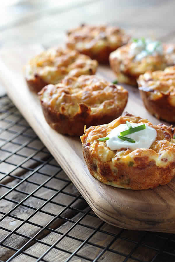 Muffins de patata