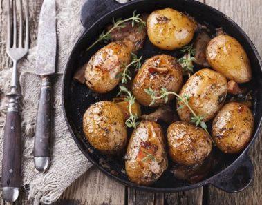 8 formas deliciosas de preparar patatas al horno