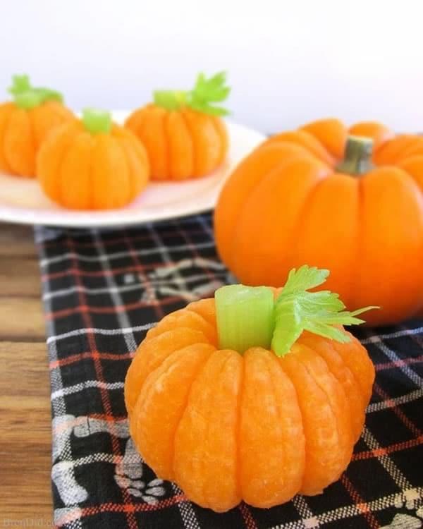 Recetas Halloween niños saludables