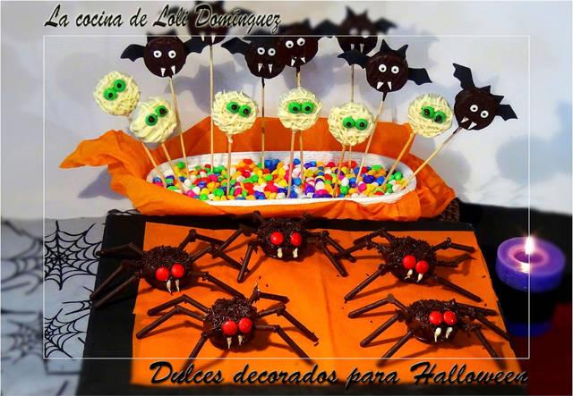Recetas de Halloween dulces: cakepops