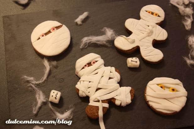 Recetas dulces de Halloween: galletas de jengibre