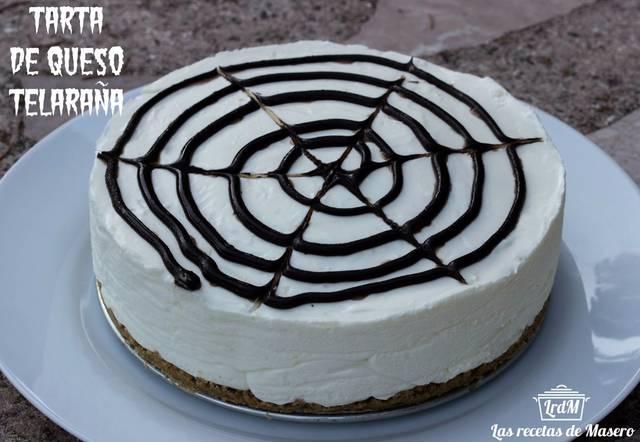 Recetas dulces de Halloween: tarta de queso