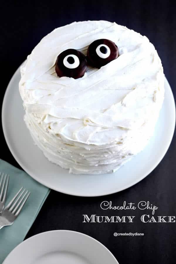 Tarta de momia fácil para Halloween