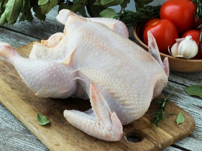 Cómo descongelar el pollo de forma segura