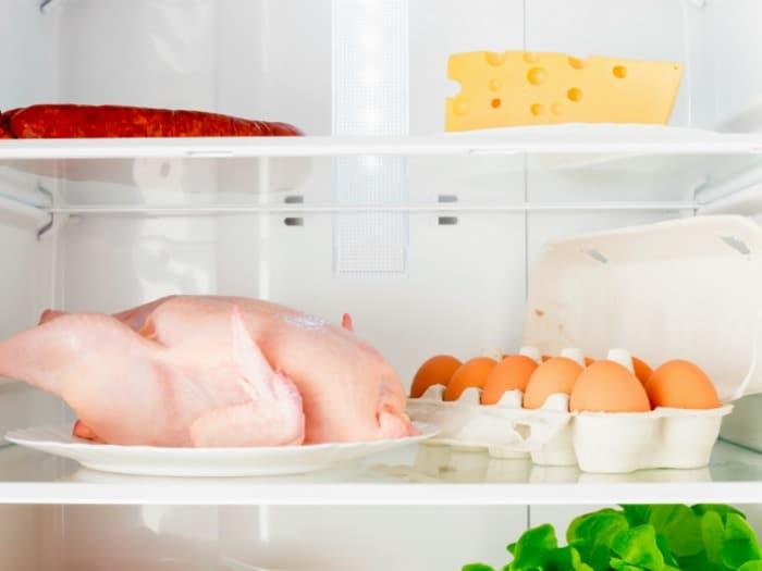 Resultado de imagen para alimentos descongelados en el frigorifico
