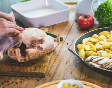 Cómo descongelar pollo o el pavo de forma segura