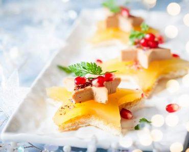 Cómo dar forma al pan de molde para los aperitivos de Navidad