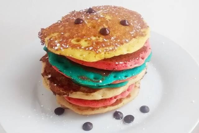 Tortitas de colores
