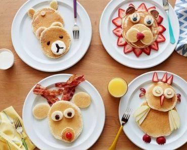 Tortitas con forma de animales