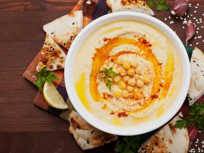 Recetas de hummus originales