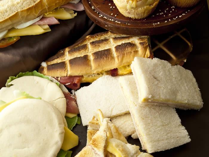 Comidas típicas de Argentina: sandwiches de miga