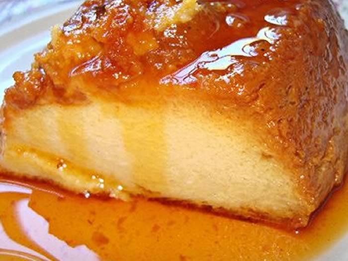 Postre argentino: budin de pan