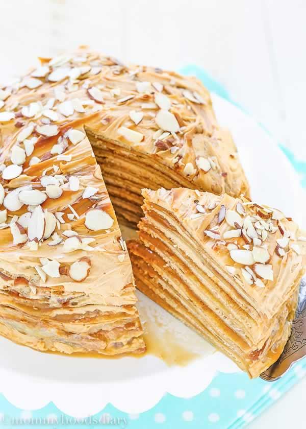 Postres sin horno: torta de dulce de leche