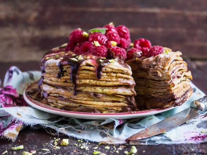 Tartas sin horno: tarta de tortitas