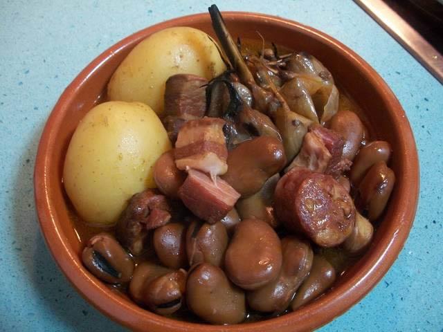 Qué comer en Murcia: michirones