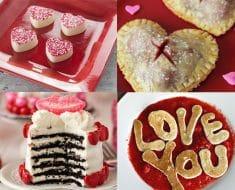 postres dulces san valentin enamorados