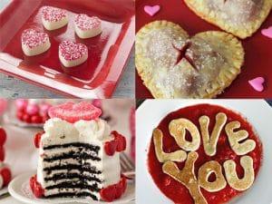 Postres para San Valentín