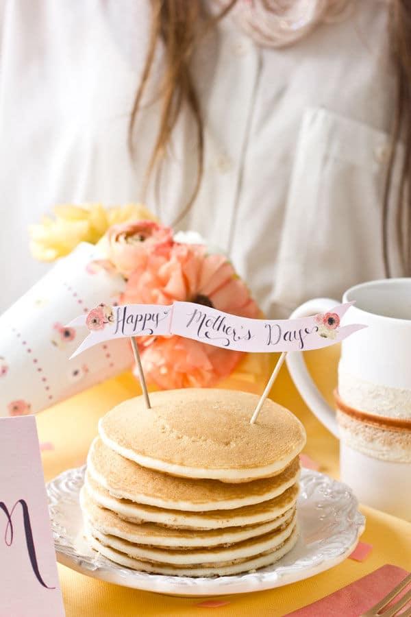 Día de la Madre: idea para decorar tartas o pasteles