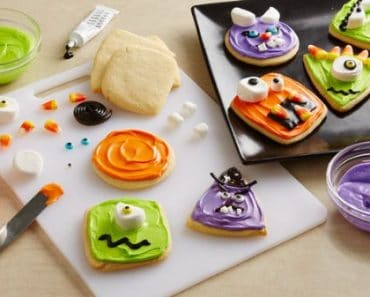 Halloween: galletas fáciles