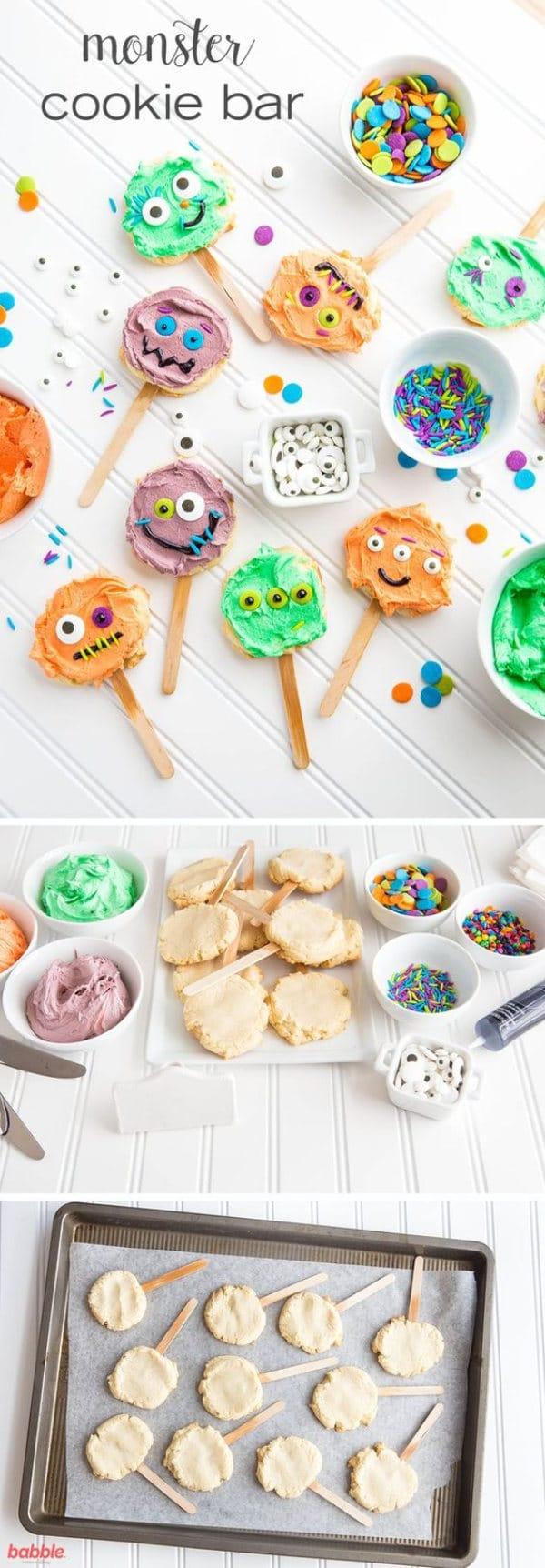 Halloween galletas fáciles