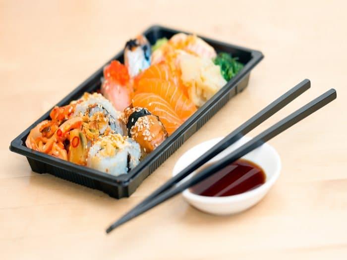 Sushi es tan sano