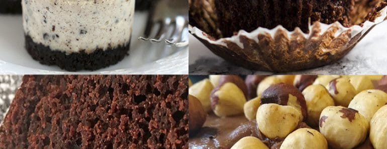 5 postres con chocolate para Choco-adictos