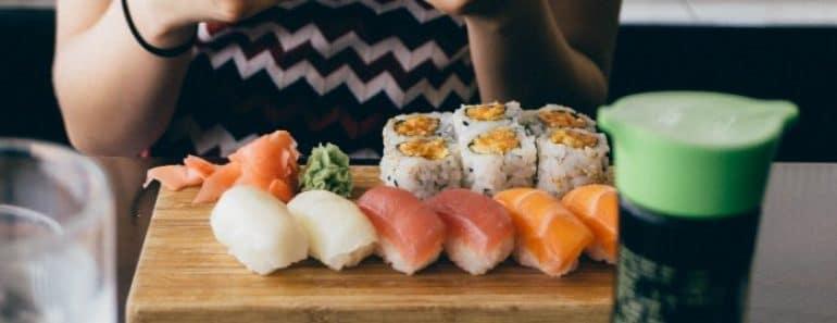 ¿Es bueno comer sushi?