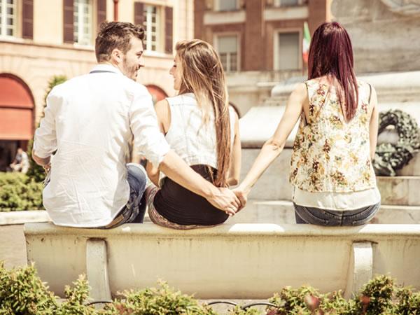 problemas típicos de pareja: infidelidad, desconfianza