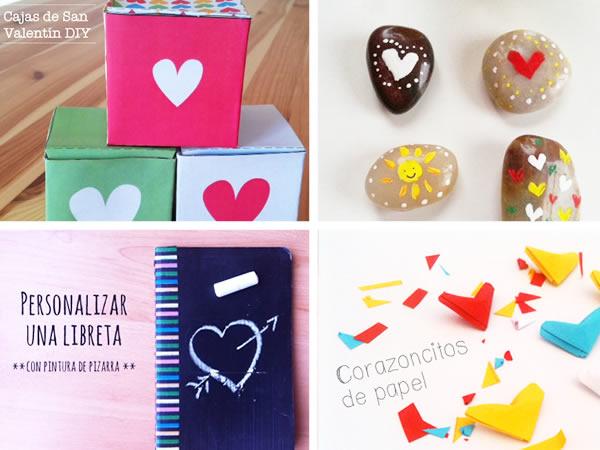 10 Manualidades fáciles para regalar por San Valentín