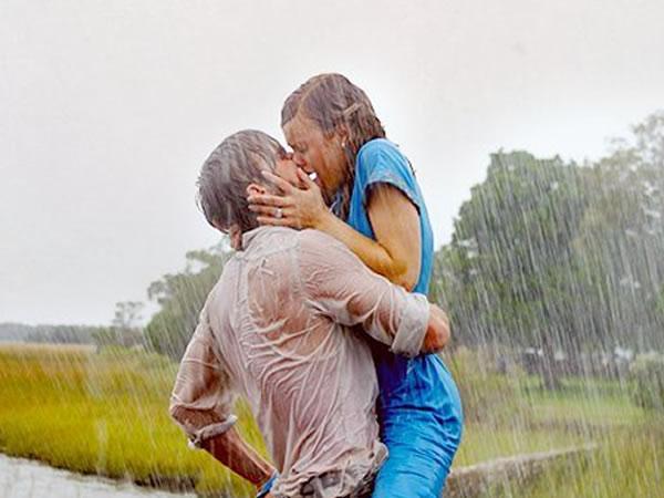 Mejores besos de cine: el diario de Noa