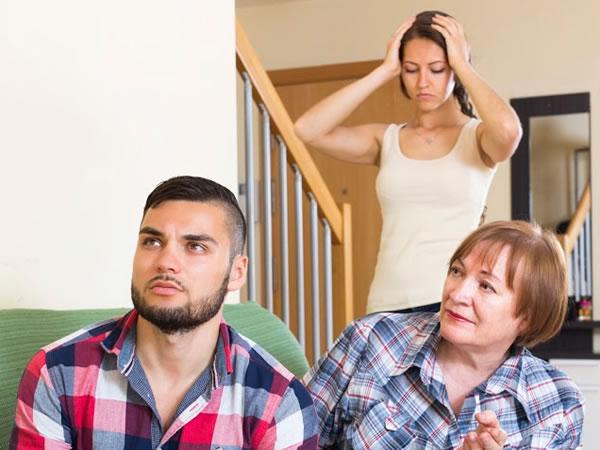 problemas típicos de pareja: la familia