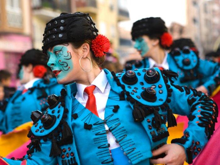 Carnavales en España