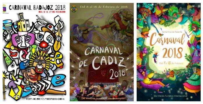 carteles carnaval españa