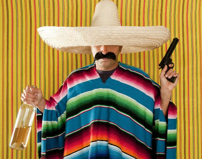 carnaval disfraz mexicano
