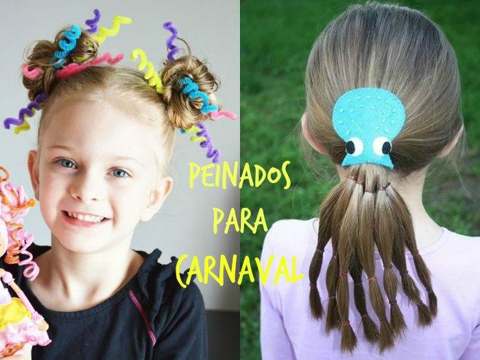 Peinados divertidos para Carnavales