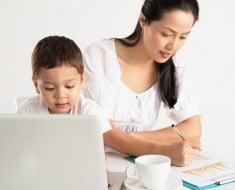 Las mujeres con hijos son más productivas