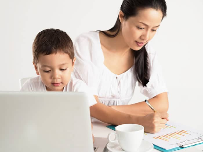 Las mujeres trabajadoras con hijos son más productivas en el trabajo