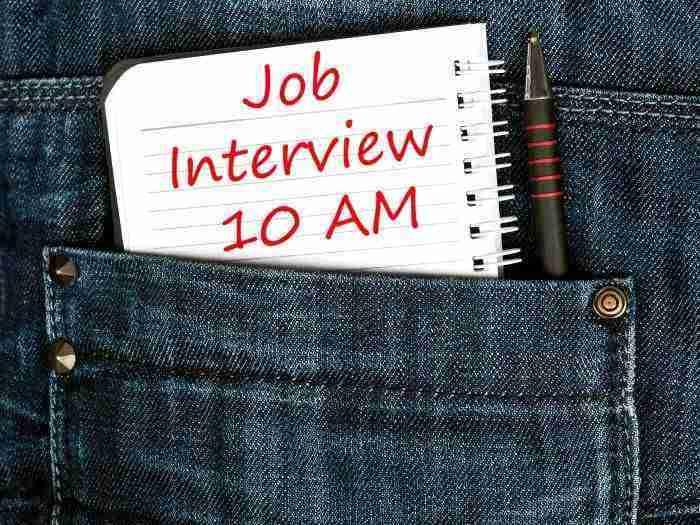 detalles de importancia en entrevista de trabajo