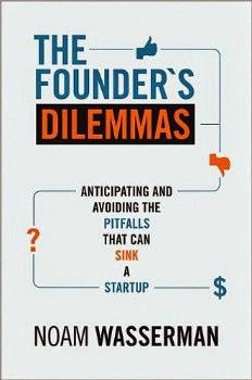 8 Libros que todo nuevo emprendedor debería leer: The Founder's Dilemmas, de Noam Wasserman